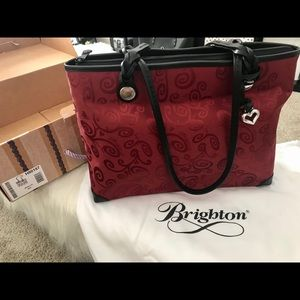 Brighton Mevelyn Red Shoulder Bag